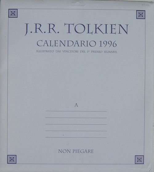 Calendario 1996.The Compleat Gyde To Tolkien Calendars